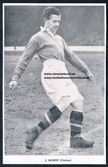 1950 Football Fav Bowie Chelsea